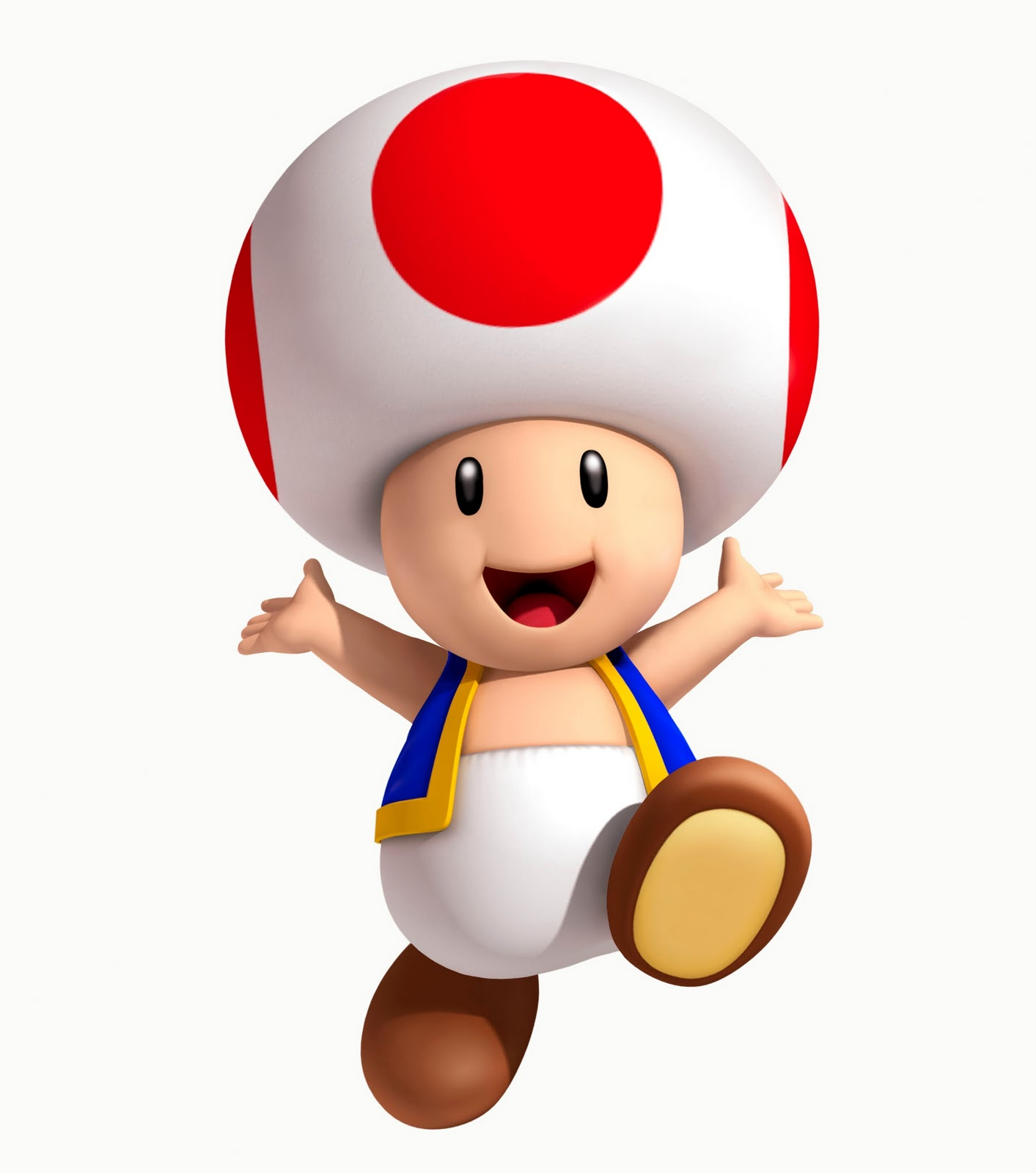Toad super mario 3D land 3DS nintendo
